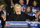 Hillary Clinton concede la derrota ante Bernie Sanders en New Hampshire.