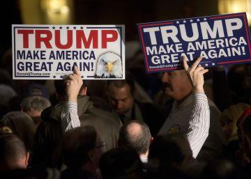 Donald Trump y Bernie Sanders vencen en New Hampshire