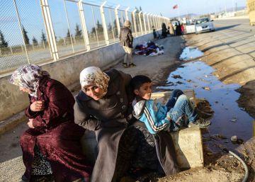 Turquía levanta un muro para sellar su frontera con Siria