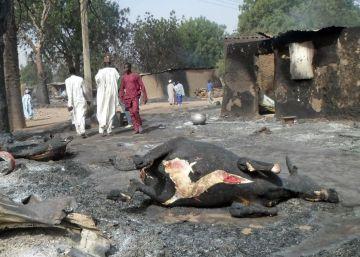 Más de 60 muertos en un atentado suicida en un campo de desplazados en Nigeria