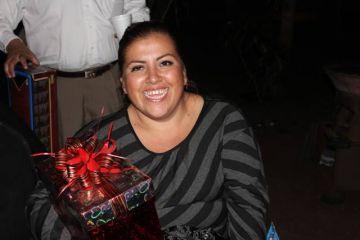 La periodista Anabel Flores.