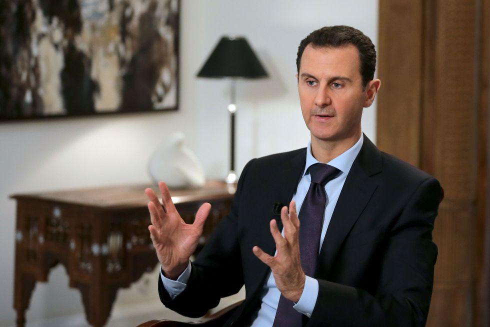 El presidente sirio, Bachar el Asad, el pasado jueves en Damasco.