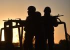 Militares y policías custodian las inmediaciones del penal.