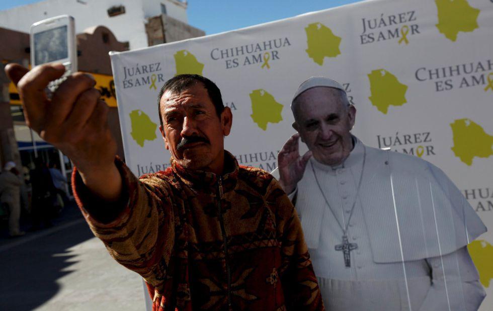 Visita del Papa a Mexico