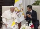 O Papa repreende o poder político e o alto clero do México
