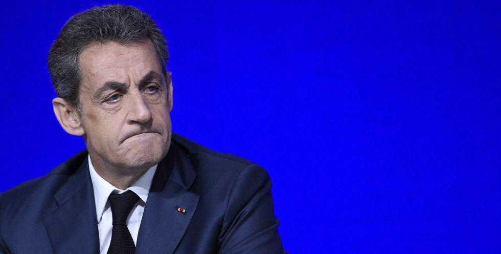 Sarkozy, durante el Consejo Nacional celebrado en París.