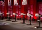 Escenario del debate republicano en Carolina del Sur.