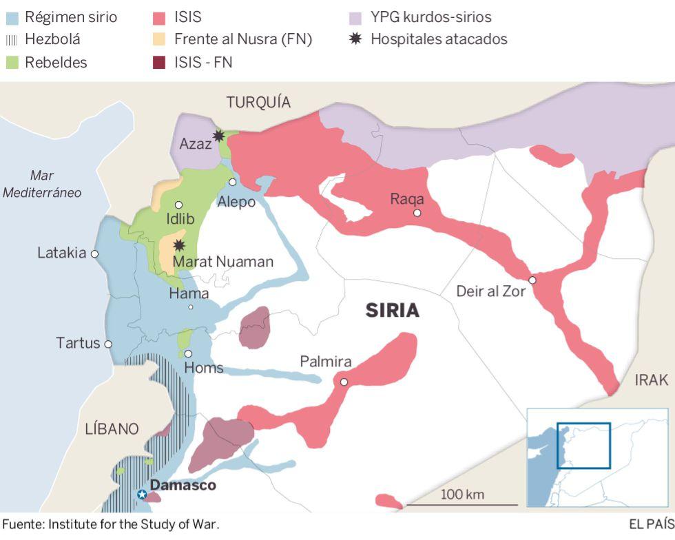 La ofensiva turca contra las milicias kurdas abre un nuevo frente en Siria