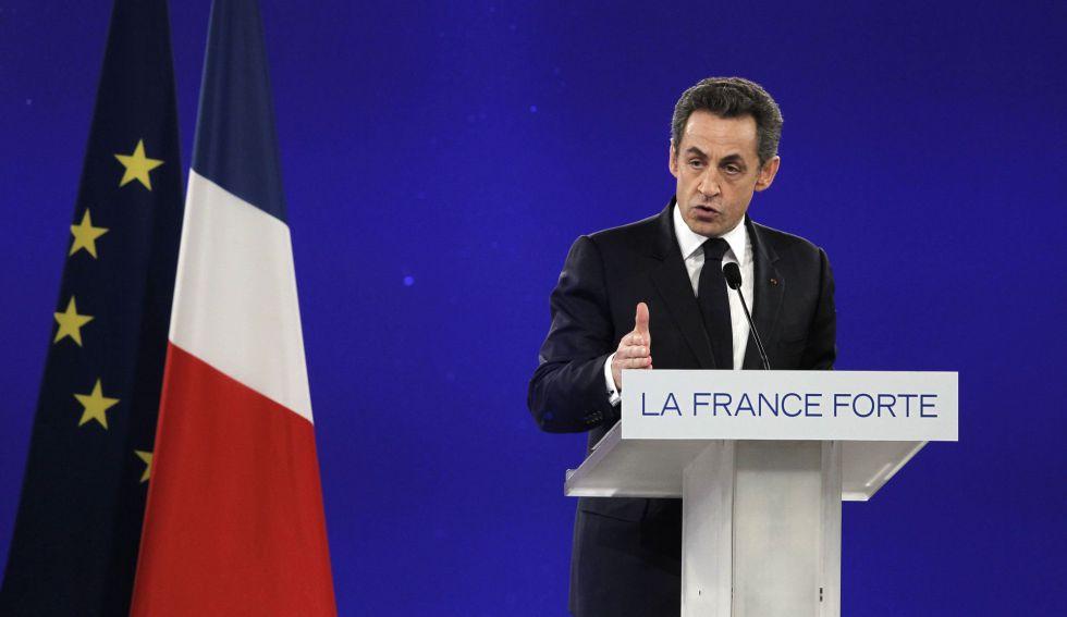 El expresidente francés Nicolas Sarkozy en 2012, en París.