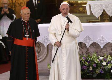 El Papa advierte en México contra la miseria que empuja a emigrar