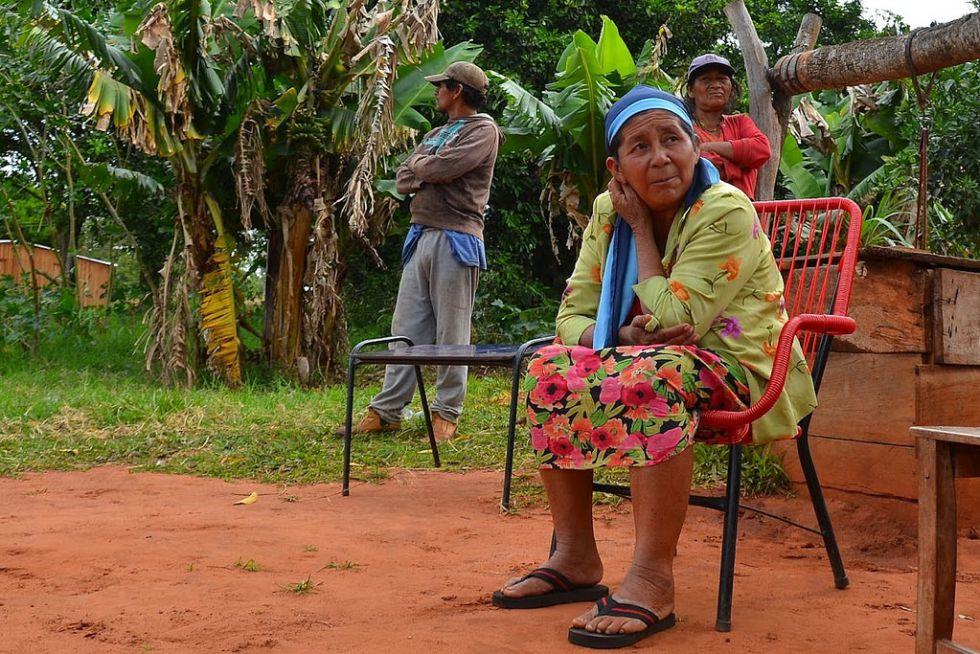 Indígenas de San Pedro, Paraguay.