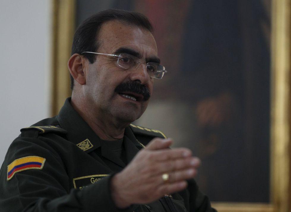 El general Rodolfo Palomino.