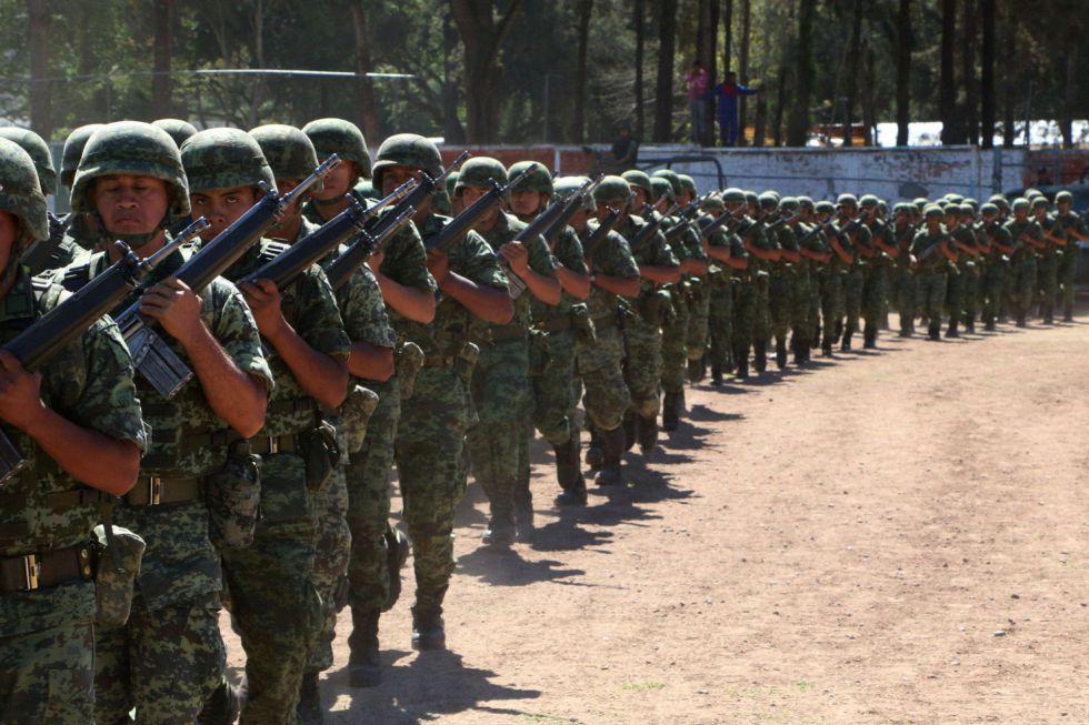 Unos 3.500 militares del Operativo Chilapa, en Guerrero.