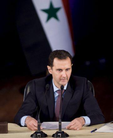El presidente de Siria Bachar el Asad