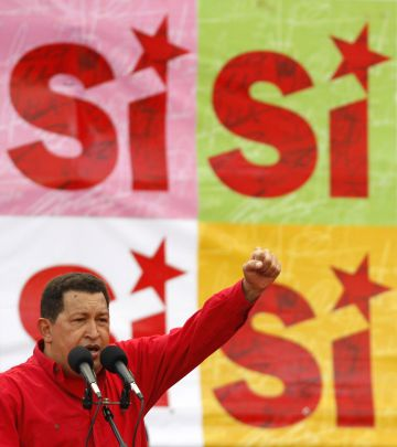 Hugo Chávez en 2009.