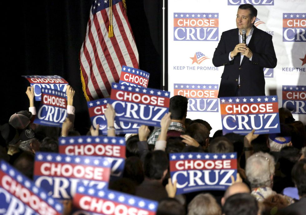 El precandidato republicano, Ted Cruz.