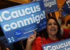 """Clinton frena a Sanders en Nevada al grito de """"Sí se puede"""""""