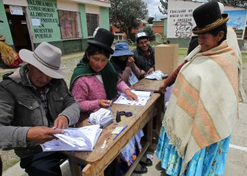 El resultado del referéndum mantiene en vilo a Bolivia