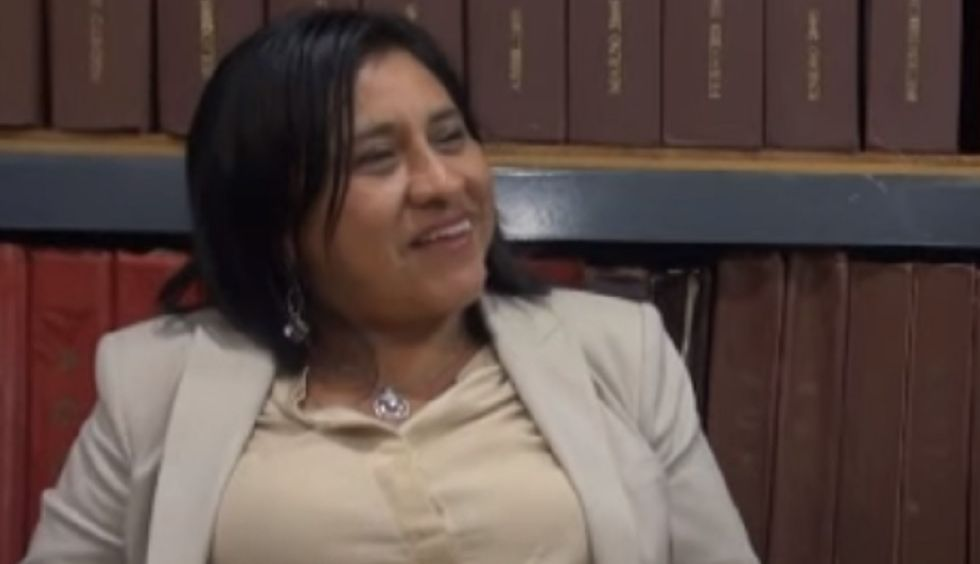 Candelaria Pérez, diputada de Morena en Tabasco