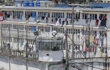 Una de las fachadas de la cárcel La Modelo de Bogotá
