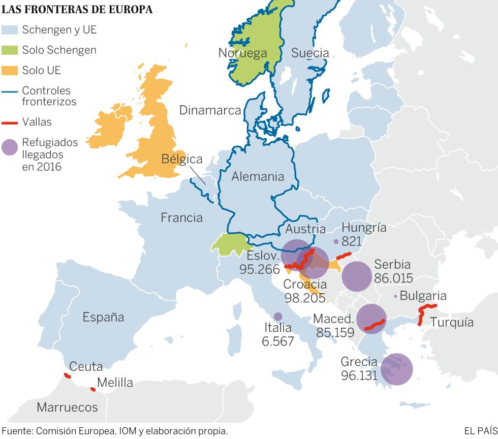 Las respuestas unilaterales dificultan una solución europea a la crisis de refugiados