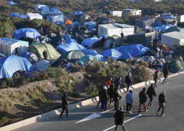 La justicia francesa autoriza el cierre de parte del campo de migrantes de Calais
