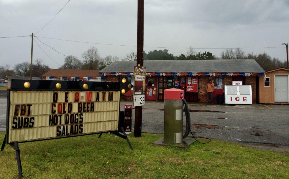 El Gadsden Community Store es el centro del pueblo