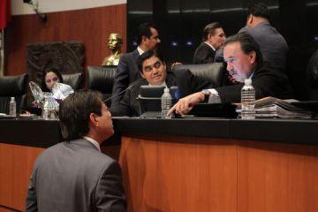 Votación en el Senado mexicano