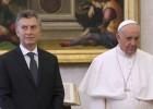 Papa recebe Macri com gestos frios num encontro de só 22 minutos