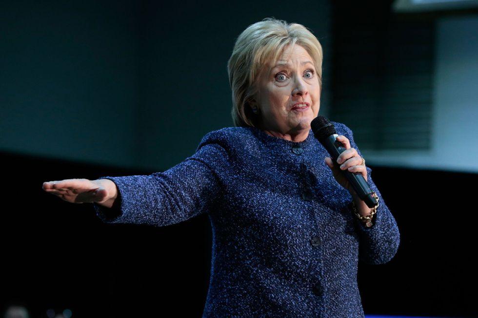 La precandidata demócracta Hillary Clinton.