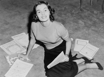 Yolande Betbeze, Miss América 1951, en una foto sin datar.