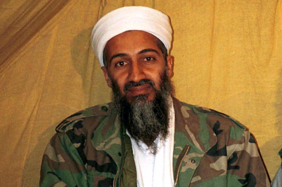 Foto sin fechar de Bin Laden en Afganistán.