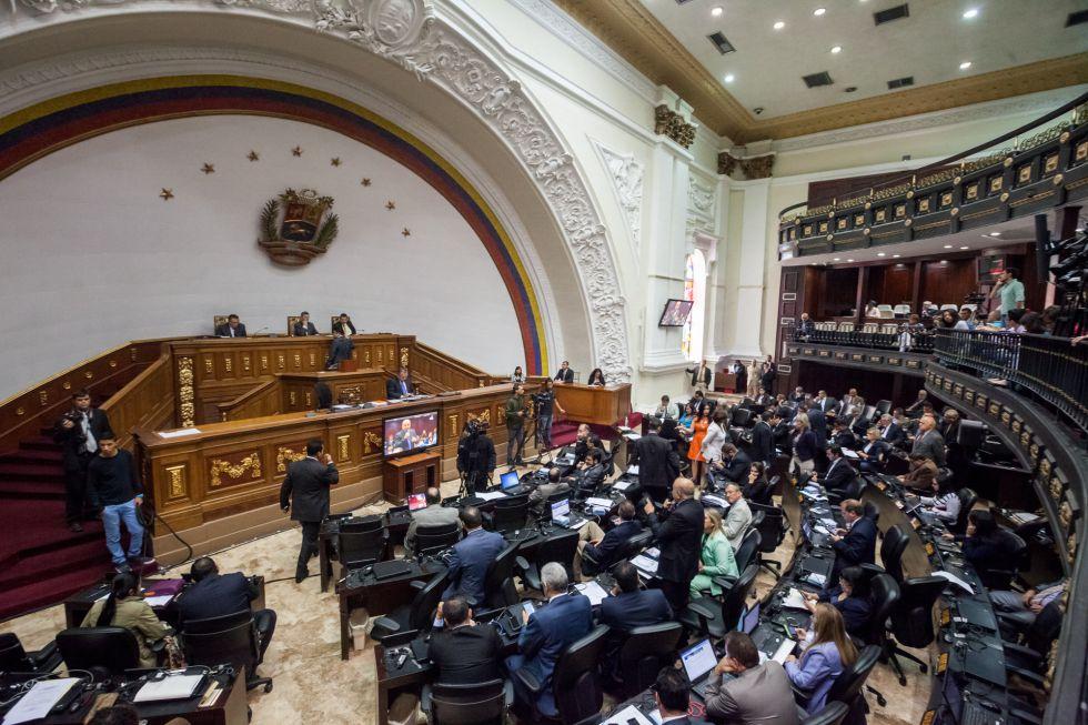 Hemiciclo de sesiones de la Asamblea Nacional de Venezuela