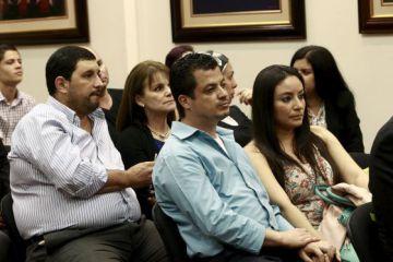 Algunas parejas, en la audiencia de la CIDH sobre la fecundación in vitro
