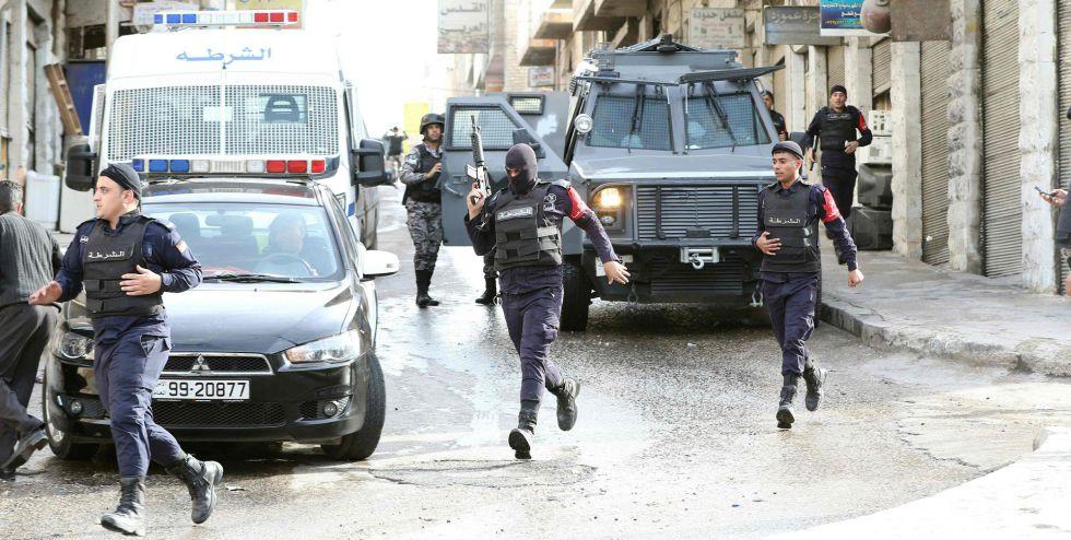 Despliegue de las fuerzas jordanas contra el ISIS en Irbid