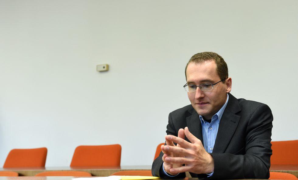 Markus R, el presunto triple espía, en una comparecencia judicial el pasado noviembre.