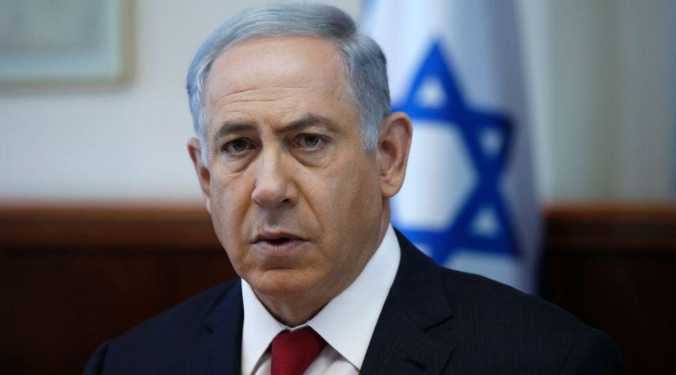 El primer ministro israelí, Benjamín Netanyahu, el domingo.