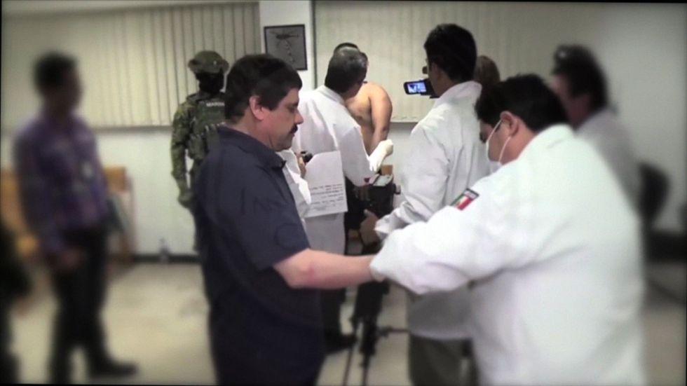 El Chapo Guzmán pide extradición