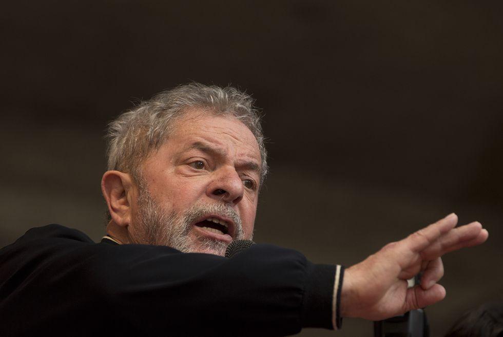 Lula da Silva, durante un acto en São Paulo en mayo pasado