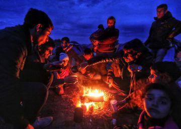 Dramática espera en el campo de Idomeni
