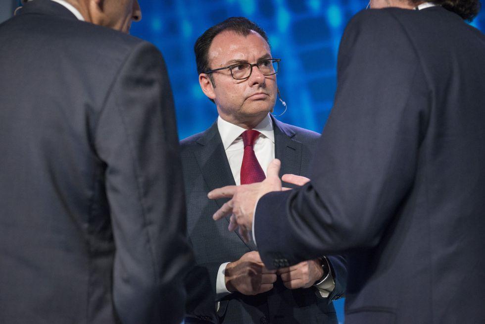 El ministro de economía mexicano, Luis Videgaray