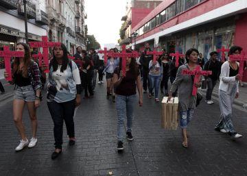 Las protestas por los feminicidios en Puebla