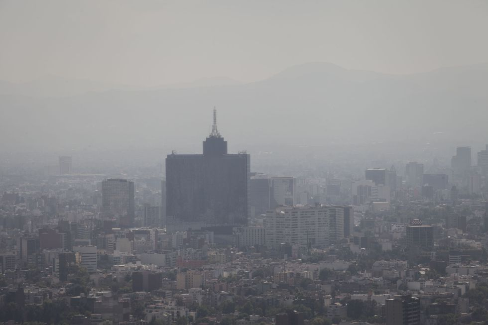 Una imagen de la Ciudad de México del 12 de febrero de este año.