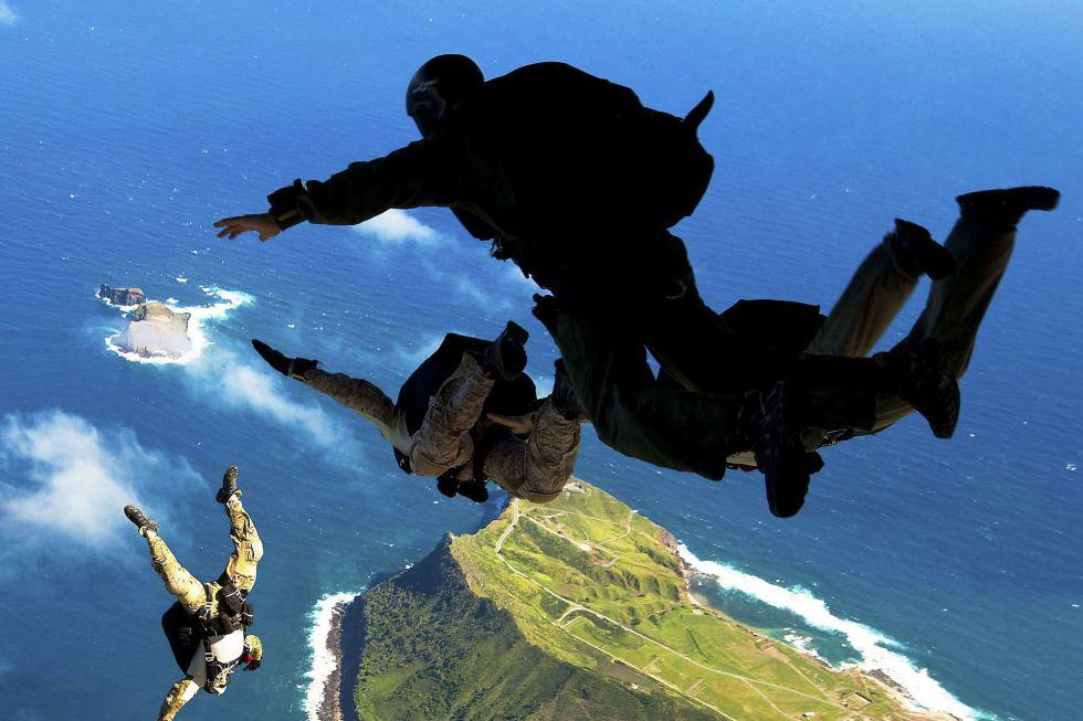 Entrenamiento de Navy Seals.