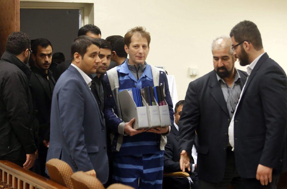Zanjani en el tribunal de Teherán, el pasado noviembre.