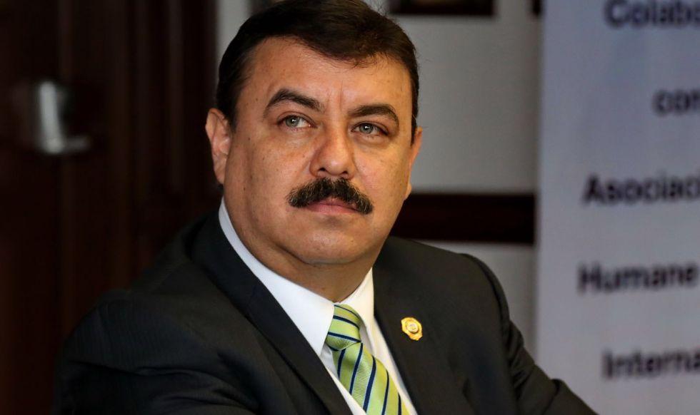 Hiram Almeida, secretario de Seguridad Pública del DF