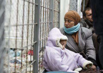 Iman Maatoa, presa en su refugio