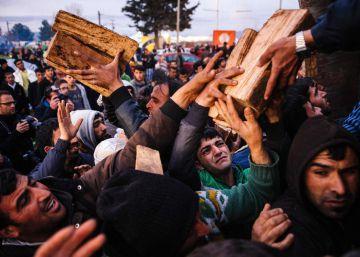 Los campos de migrantes proliferan en la costa oeste de Francia tras el desmantelamiento de Calais