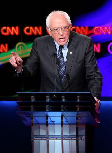El candidato a las primarias demócratas, Bernie Sanders.