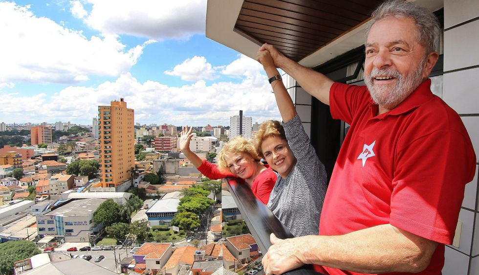 Lula da Silva y Dilma Rousseff